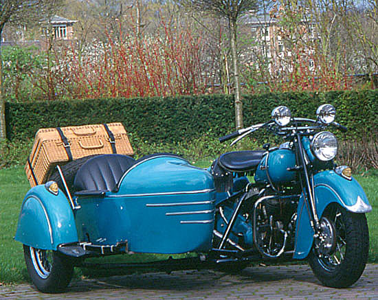 Indian Chief 1200 Gespann von 1948