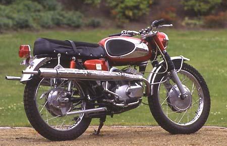 Bridgestone Scrambler 175 Modellgeschichte Von Winni Scheibe