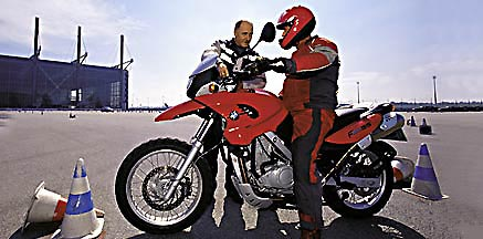 instruktoren training motorrad